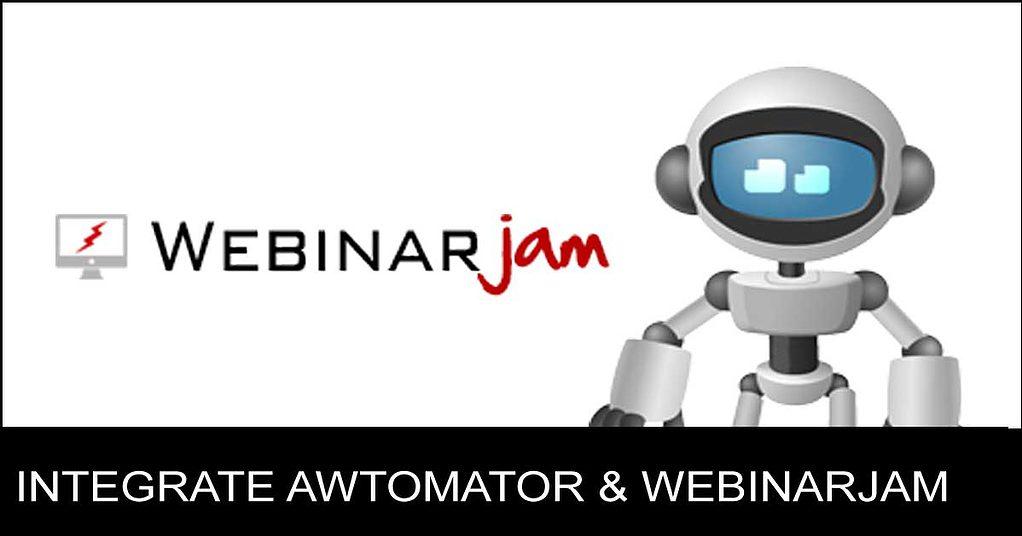integrate WebinarJam and AWeber using AWtomator